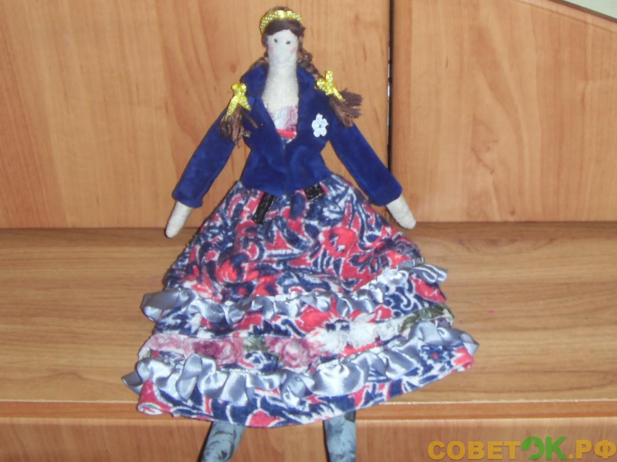 Мастер-класс: Мягкая кукла «Барыня»