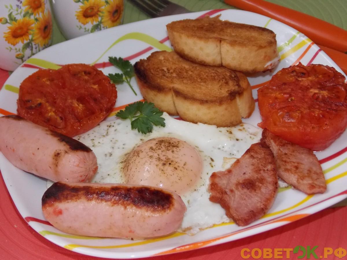 Рецепт для двухсторонней сковороды (Happycall, Турбогриль, Мастер Жар). Сытный завтрак по-ирландски