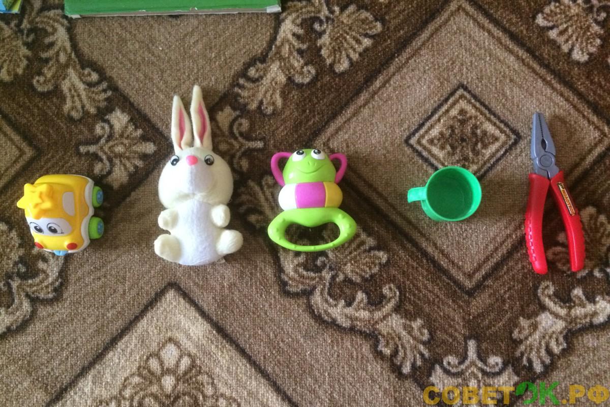 Игра для малышей: Что пропало?