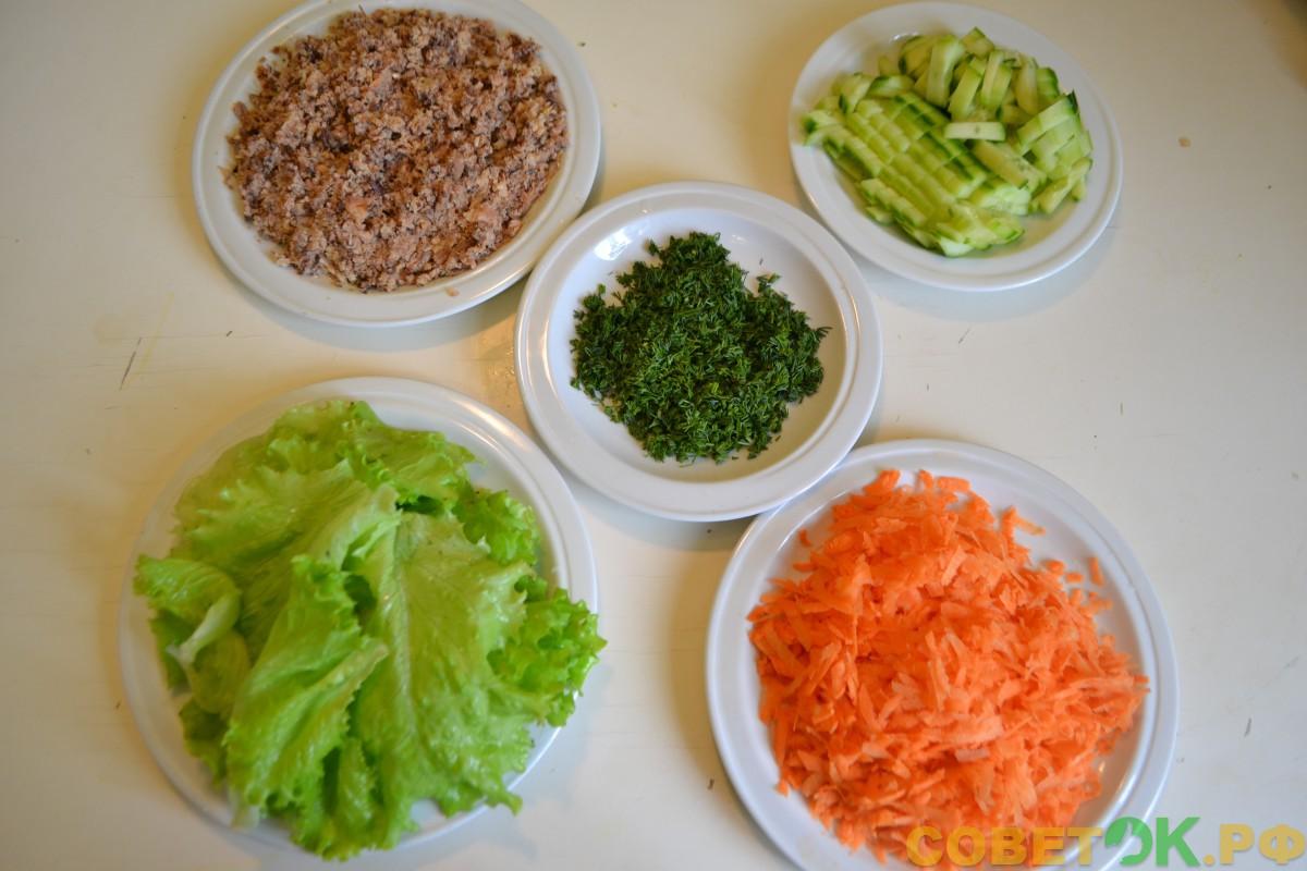 Скандинавский рыбный салат - пошаговый рецепт