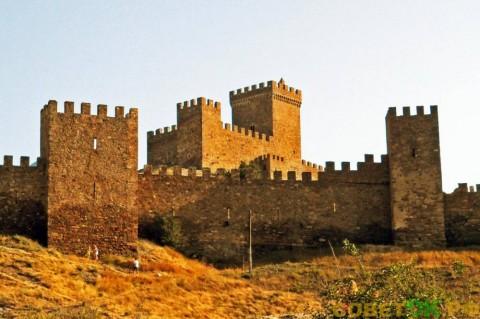 Генуэзская крепость в Судаке (Крым)