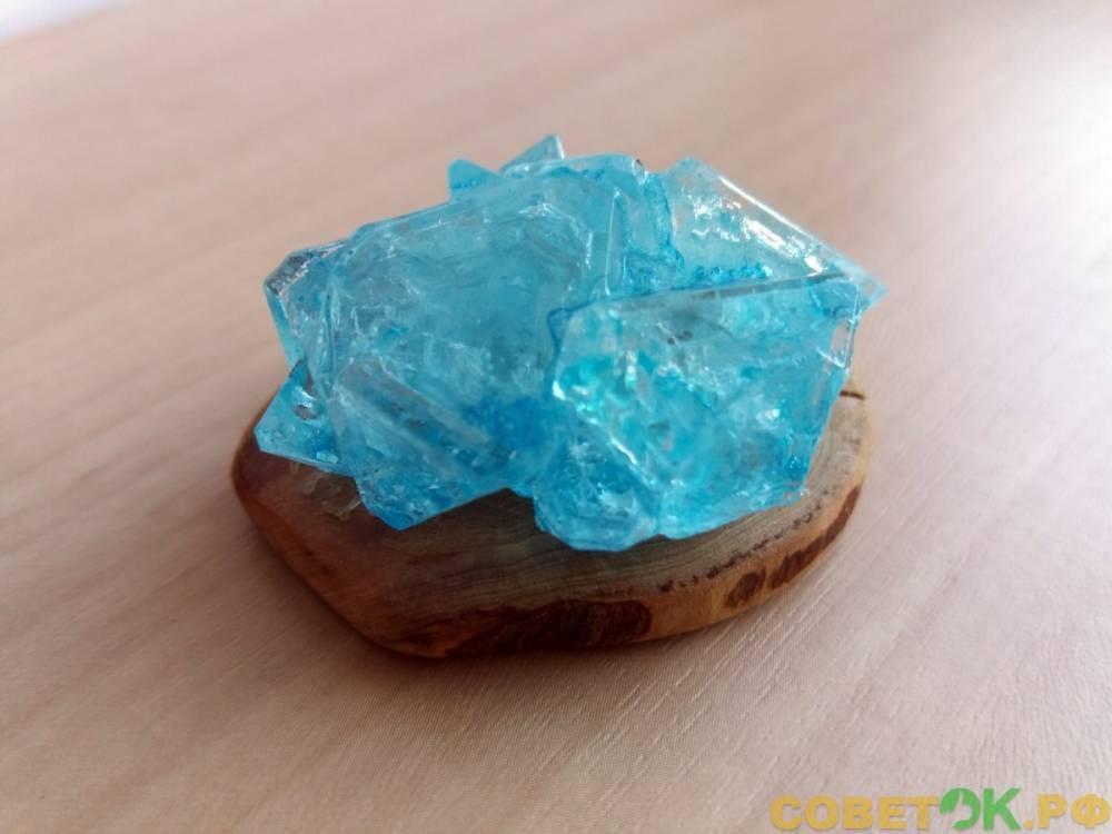 Кристаллы из квасцов